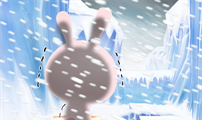 [샘플툰] 목이 시려워 추운 토끼
