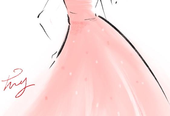 드레스 일러스트