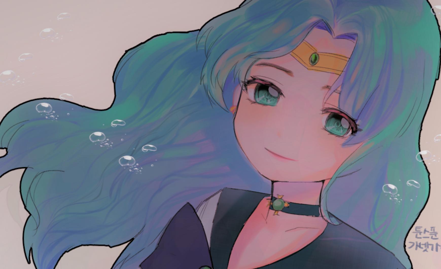 바다의 마법소녀~