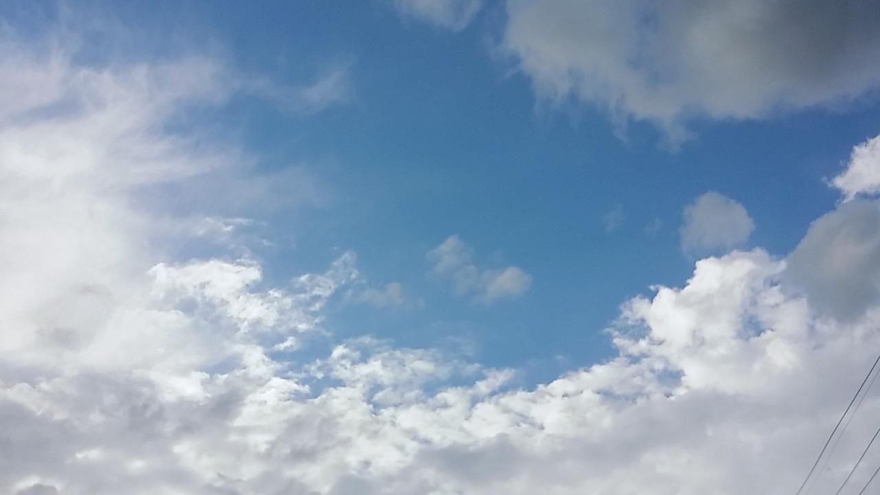 예전에 찍은 하늘사진