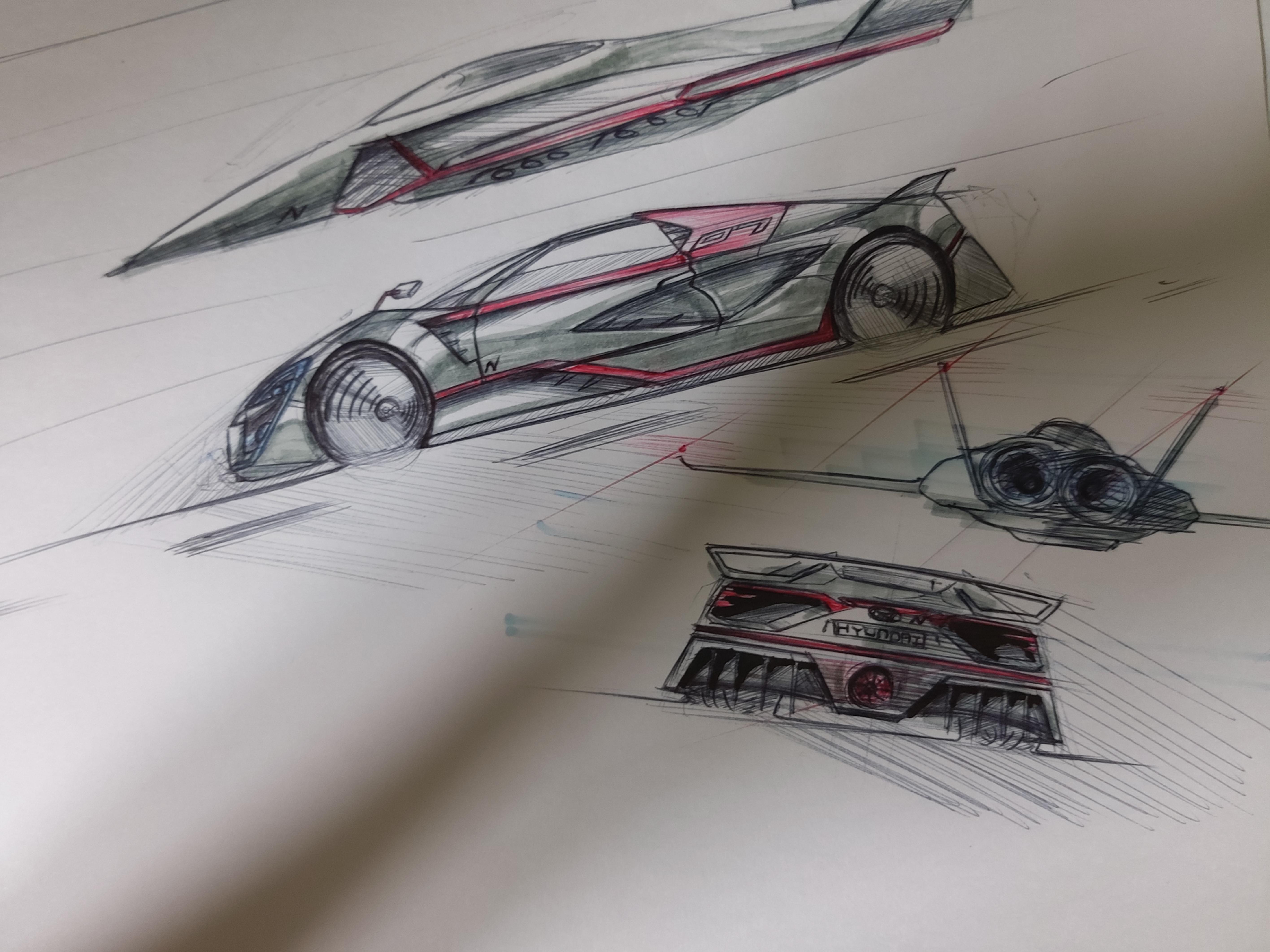 Hyundai Supercar design