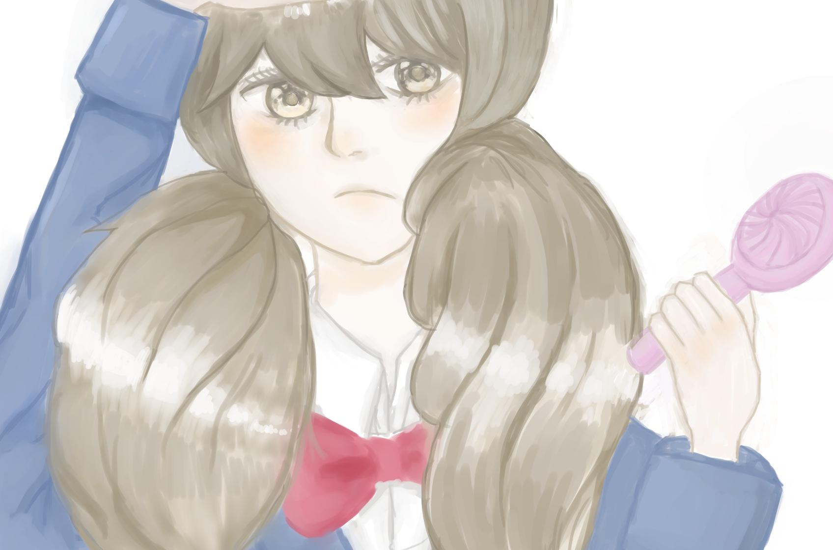 너에게 닿기를 쿠루미자와 우메 그렸습니다!