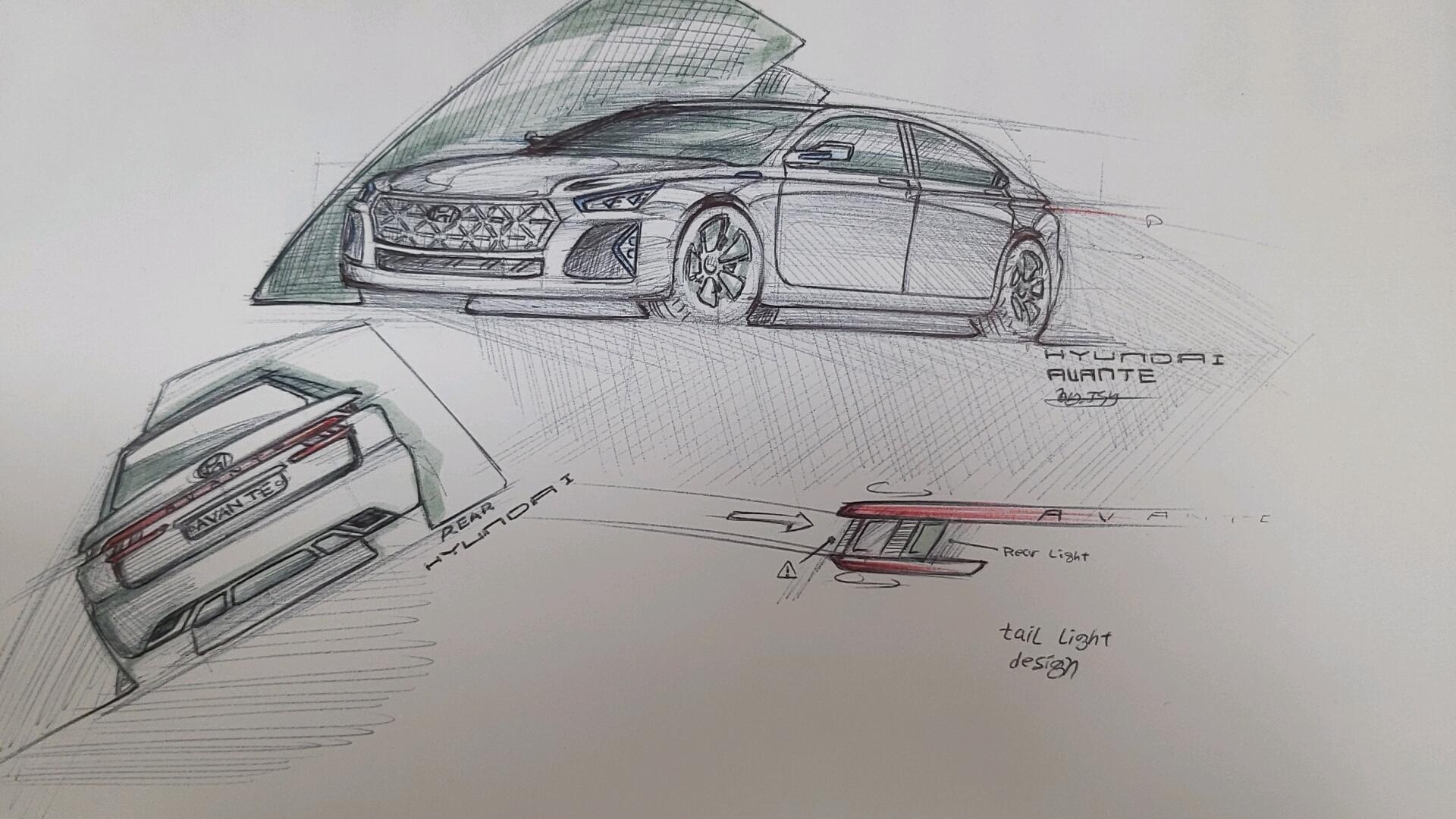Hyundai Avante Re-design (2)