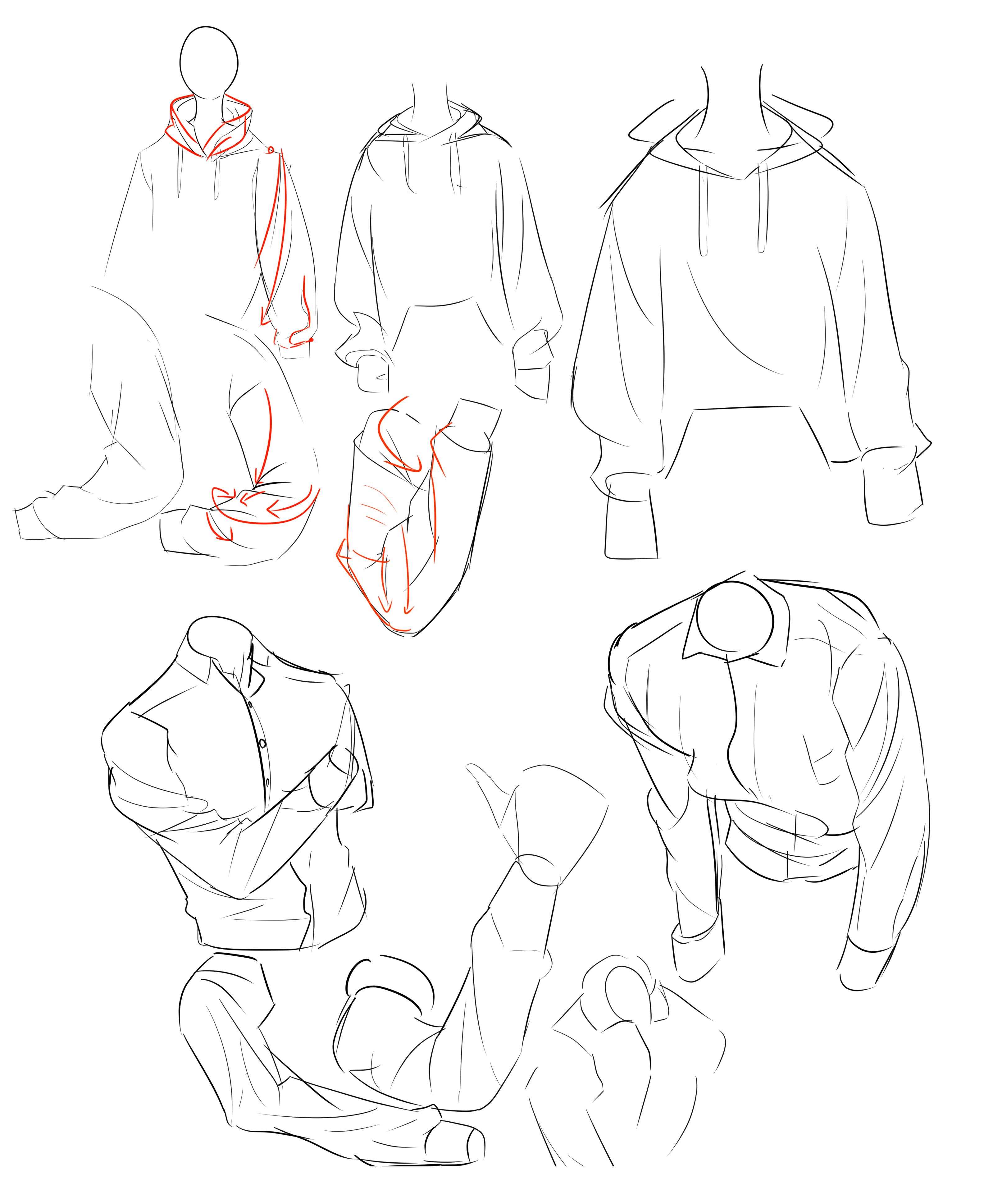 옷 주름 연습