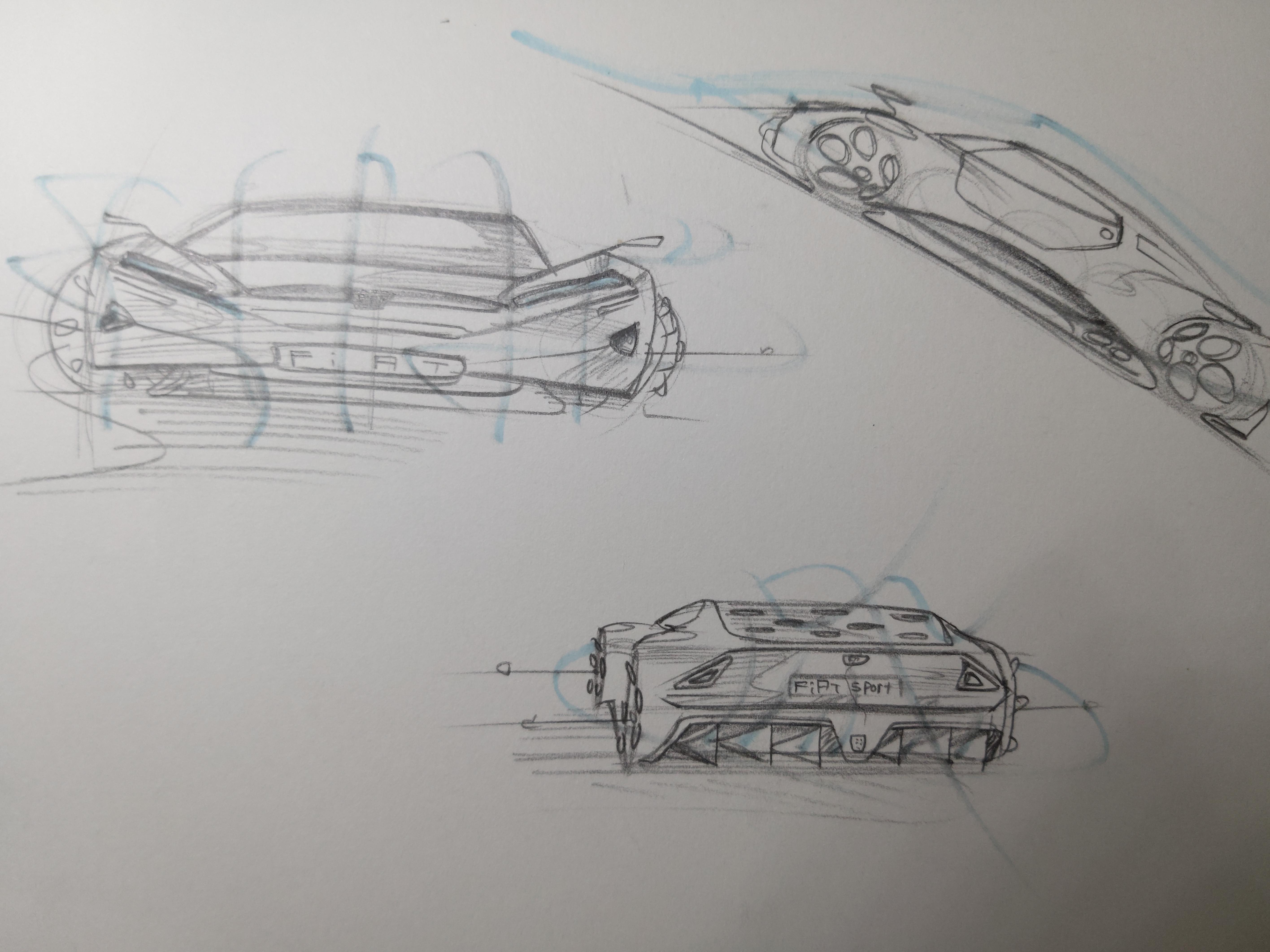 Car design practice