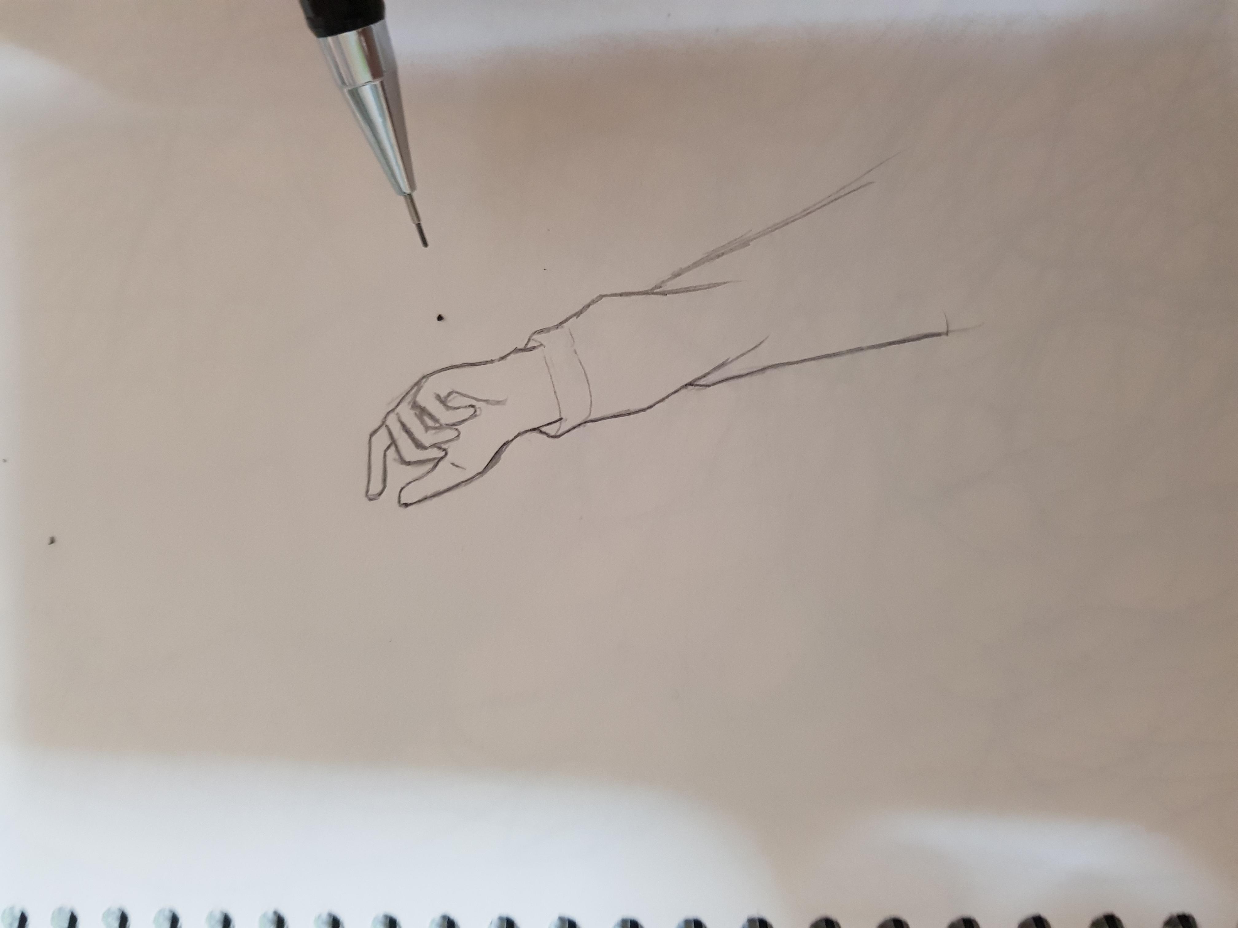 """손으로 그린 """"손""""그림2"""