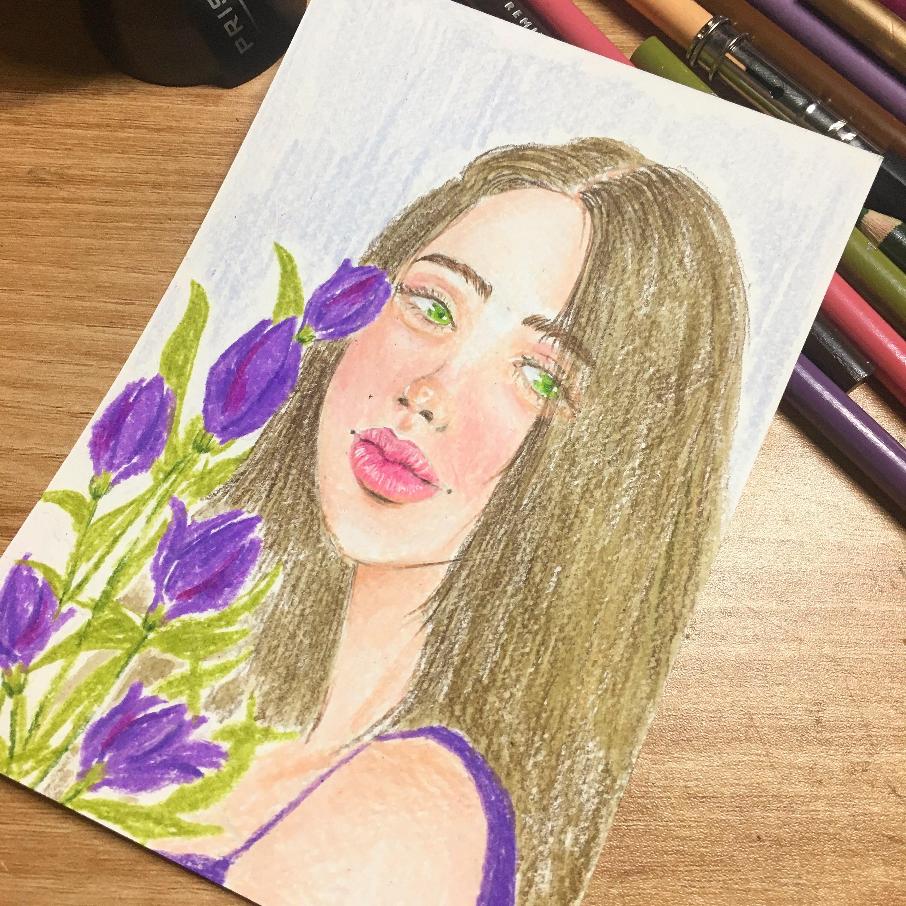 보라색 튤립의 꽃말