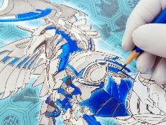 바쿠간 배틀플래닛 페가트릭스 연필로 색칠하기