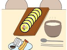 야식 8 ( 김밥,튀김등 )