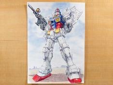 퍼스트 건담 RX-78-2 그림 그리기