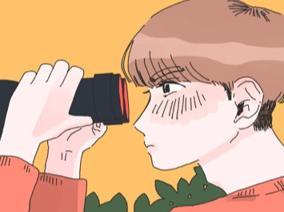 망원경과소년