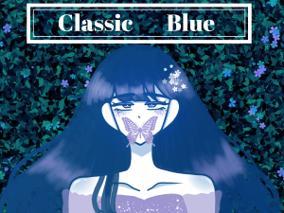 2020년색 클래식 블루