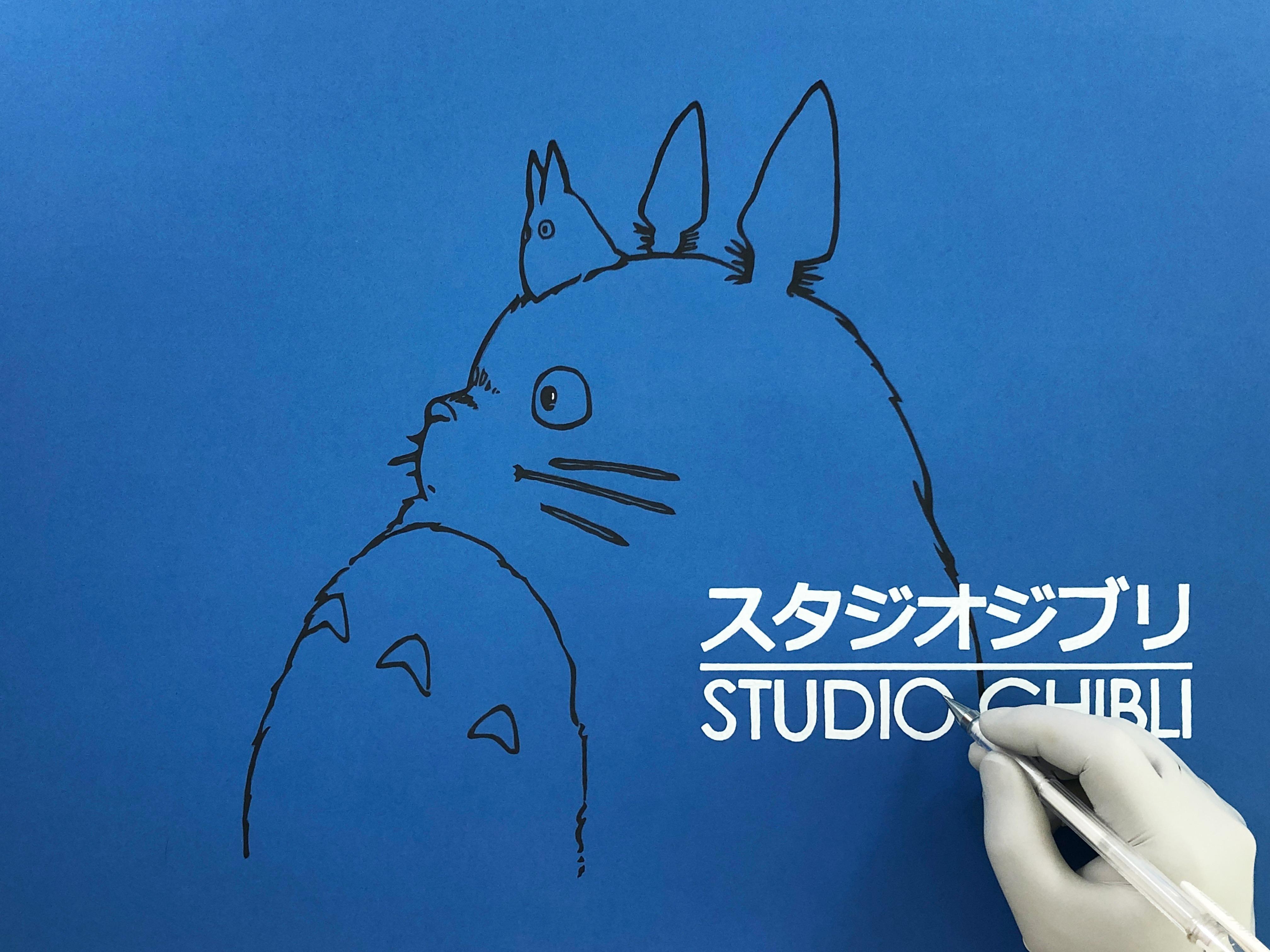 100% 수작업. 볼펜으로만 그린 지브리 스튜디오 그림 그리기 | ARTOY