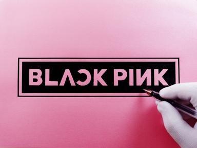 블랙핑크 로고 그리기 | ARTOY
