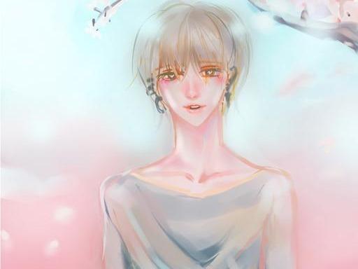 벚꽃 주제그림 -그렸던 그림