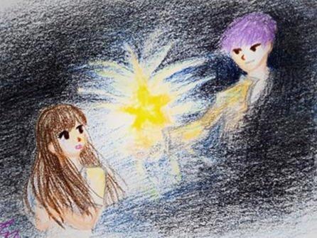 어둠과 소녀