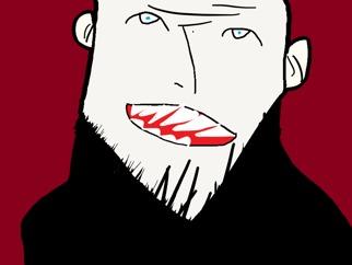 (마우스그림 ) 굼주린 뱀파이어