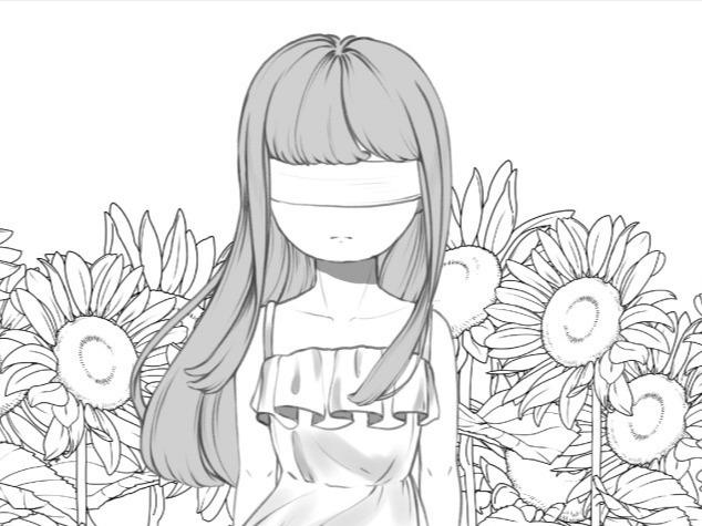 [흑백만화 단편] 해바라기