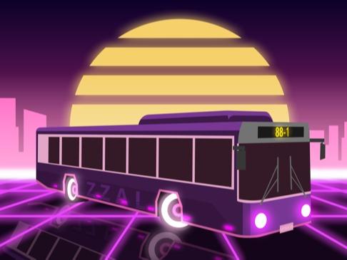 레트로 버스
