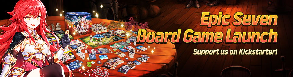 Epic Seven Board Game Epic Seven Arise Official Crowdfunding Launch