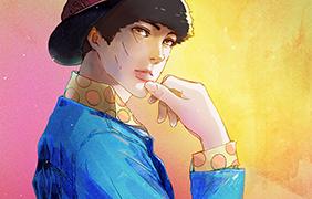 백일몽화원 캐릭터 일러스트 - 후인