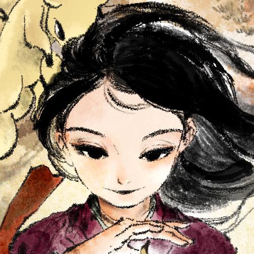 Lynn, The Girl Drawn on Puzzle